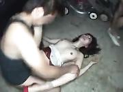 夜晚强奸美女