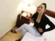 广场上碰到的气质美女太漂亮了,想尽一切办法把骗到宾馆给上了!