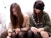 [HNK-012] 姉妹ナンパ 見た目は仲良さそうだけど本当は女としてライバルという美人姉妹のコンプレックスを競わせてHな悪戯!! 2