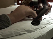 贵阳夫妻找单男玩3P酒店开房黑丝高跟高清1小时对白清楚