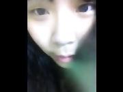 初中女同桌微信发来的自慰视频
