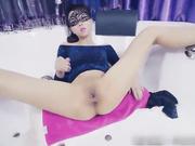拳交女王周晓琳第四部 包臀裙高跟鞋 在浴缸里用充气式阳具扩阴 最后上演菊吃桔子