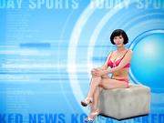 韩国裸体新闻之 (Naked News Korea) - 体育 (2009.06.25)